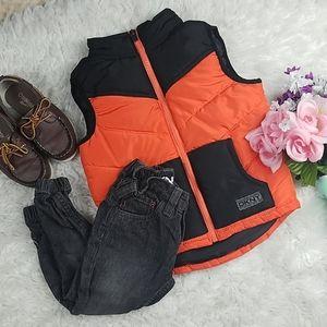 Boys DKNY vest and pants set.